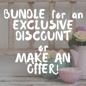 Accepting offers! Bundle for a bigger discount!